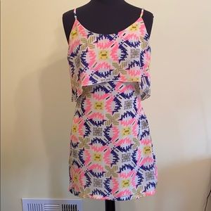 Neon patterned Dress
